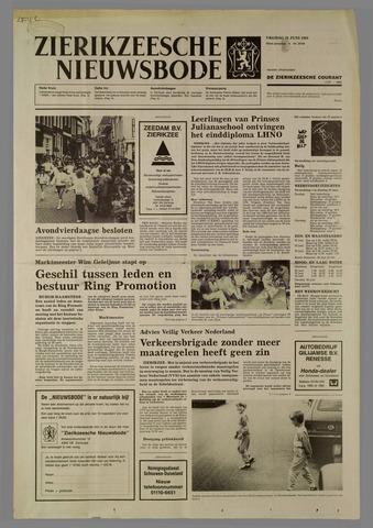 Zierikzeesche Nieuwsbode 1985-06-21