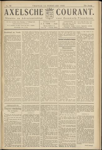 Axelsche Courant 1936-02-14