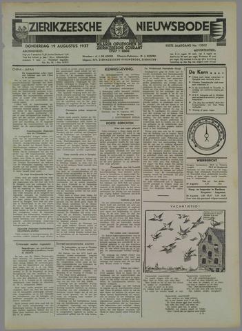 Zierikzeesche Nieuwsbode 1937-08-19