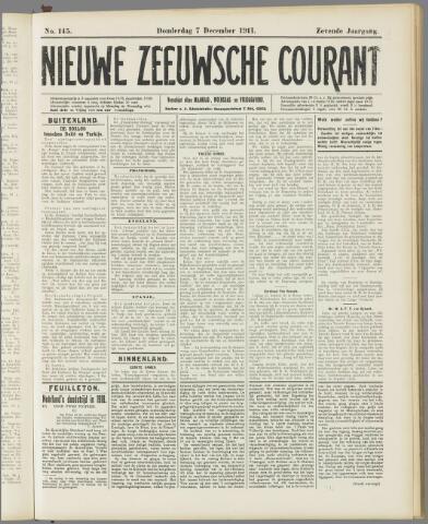 Nieuwe Zeeuwsche Courant 1911-12-07