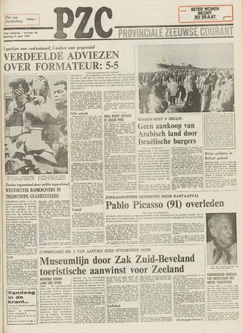 Provinciale Zeeuwse Courant 1973-04-09