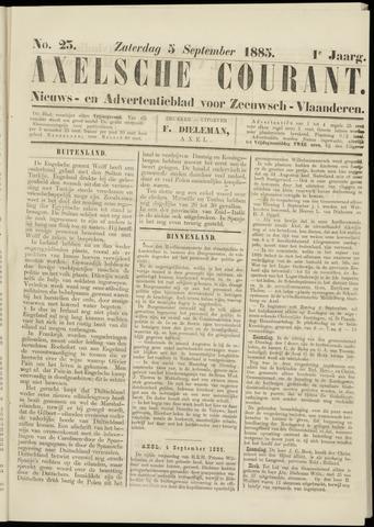 Axelsche Courant 1885-09-05
