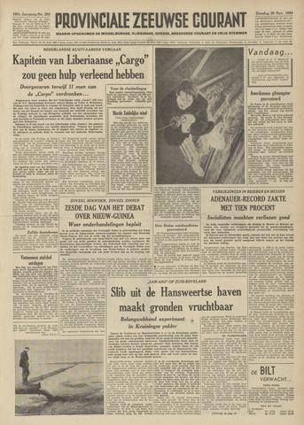 Provinciale Zeeuwse Courant 1954-11-30