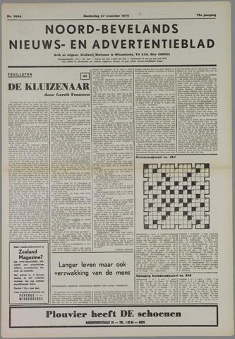 Noord-Bevelands Nieuws- en advertentieblad 1975-11-27