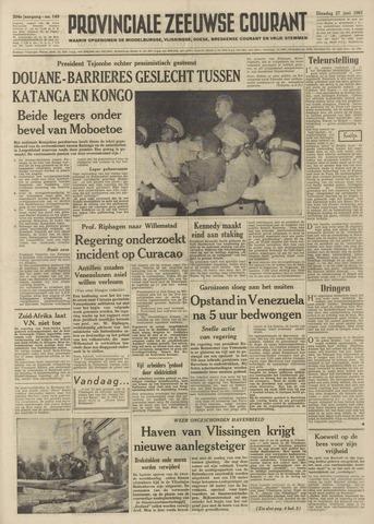 Provinciale Zeeuwse Courant 1961-06-27