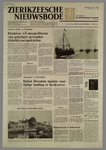 Zierikzeesche Nieuwsbode 1976-07-19