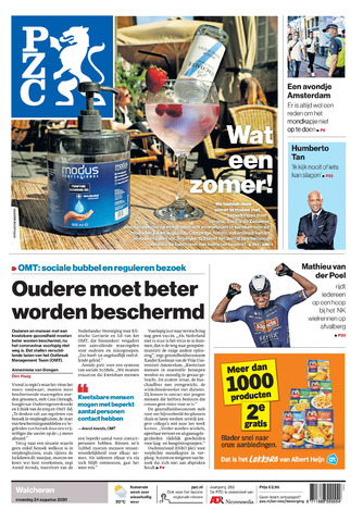 Provinciale Zeeuwse Courant 2020-08-24