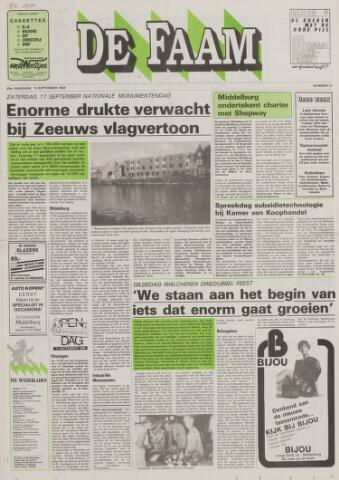 de Faam en de Faam/de Vlissinger 1988-09-14