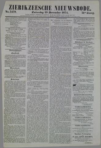 Zierikzeesche Nieuwsbode 1874-12-19