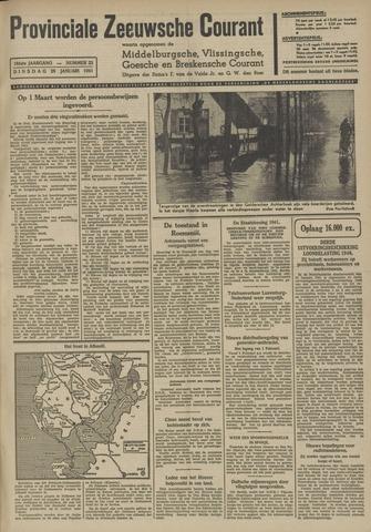 Provinciale Zeeuwse Courant 1941-01-28