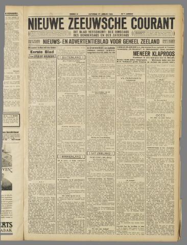Nieuwe Zeeuwsche Courant 1934-01-27