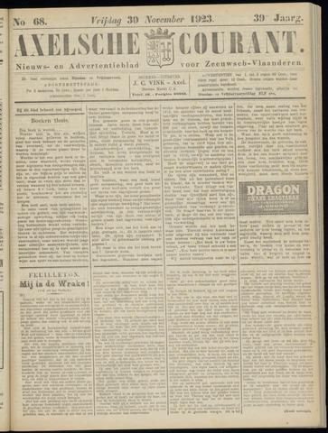 Axelsche Courant 1923-11-30