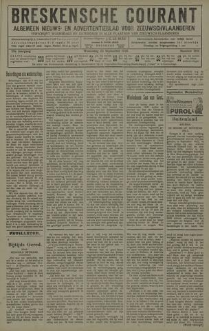Breskensche Courant 1926-09-22