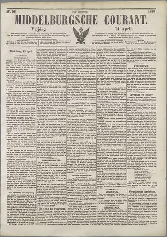 Middelburgsche Courant 1899-04-14