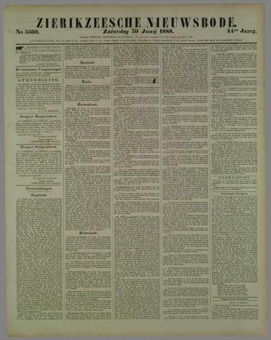 Zierikzeesche Nieuwsbode 1888-06-30