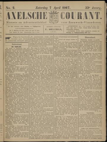 Axelsche Courant 1917-04-07