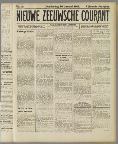 Nieuwe Zeeuwsche Courant 1919-01-30