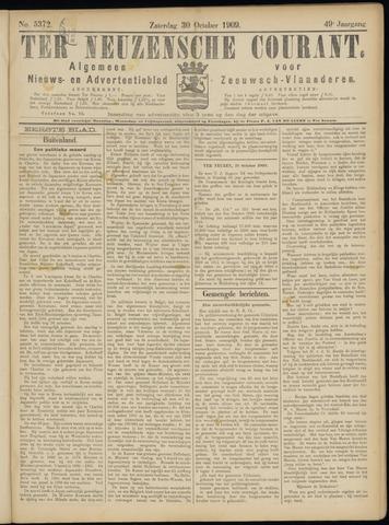 Ter Neuzensche Courant. Algemeen Nieuws- en Advertentieblad voor Zeeuwsch-Vlaanderen / Neuzensche Courant ... (idem) / (Algemeen) nieuws en advertentieblad voor Zeeuwsch-Vlaanderen 1909-10-30