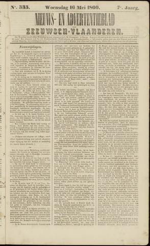 Ter Neuzensche Courant. Algemeen Nieuws- en Advertentieblad voor Zeeuwsch-Vlaanderen / Neuzensche Courant ... (idem) / (Algemeen) nieuws en advertentieblad voor Zeeuwsch-Vlaanderen 1860-05-16