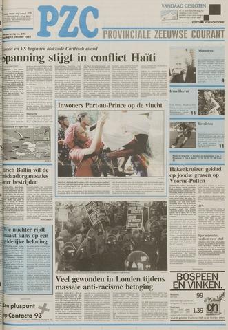 Provinciale Zeeuwse Courant 1993-10-18