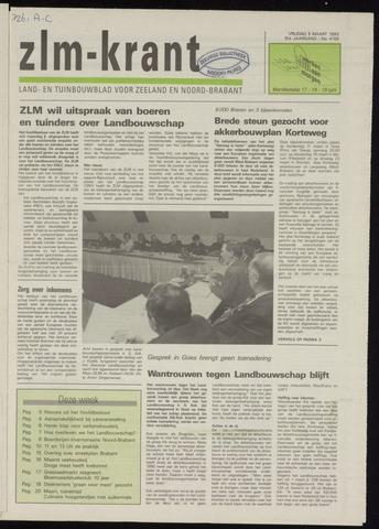 Zeeuwsch landbouwblad ... ZLM land- en tuinbouwblad 1993-03-05