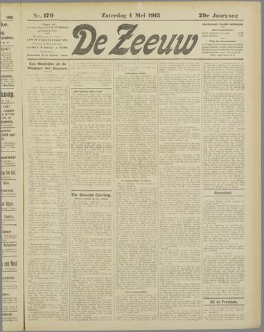 De Zeeuw. Christelijk-historisch nieuwsblad voor Zeeland 1915-05-01