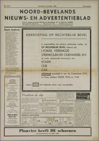 Noord-Bevelands Nieuws- en advertentieblad 1965-11-27