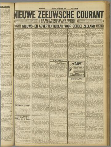 Nieuwe Zeeuwsche Courant 1927-10-25
