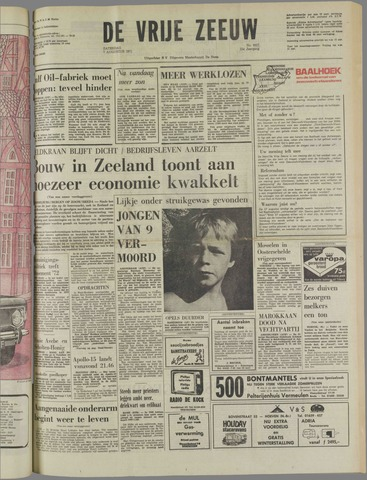 de Vrije Zeeuw 1971-08-07