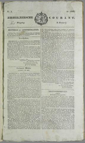 Zierikzeesche Courant 1837