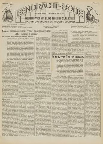 Eendrachtbode (1945-heden)/Mededeelingenblad voor het eiland Tholen (1944/45) 1959-02-27