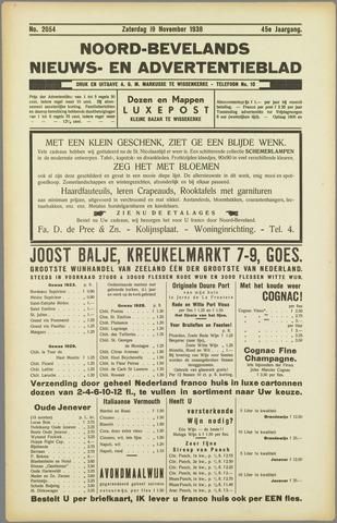 Noord-Bevelands Nieuws- en advertentieblad 1938-11-19