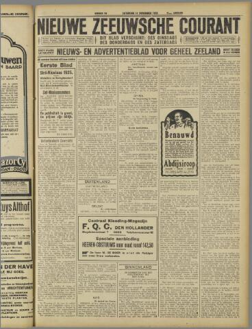 Nieuwe Zeeuwsche Courant 1925-11-14