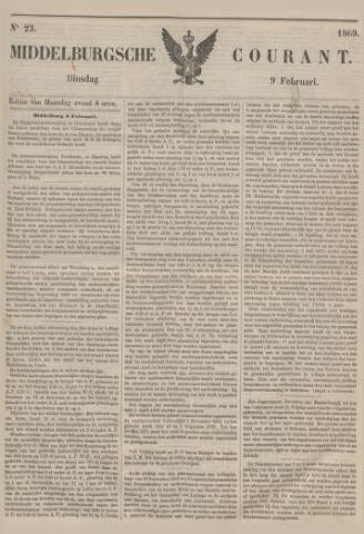 Middelburgsche Courant 1869-02-09