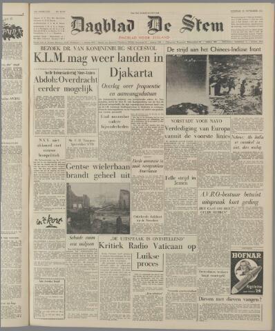 de Stem 1962-11-13
