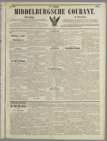 Middelburgsche Courant 1908-10-06