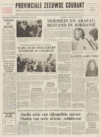 Provinciale Zeeuwse Courant 1970-09-28