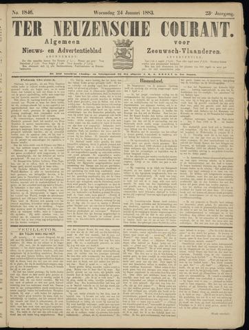 Ter Neuzensche Courant. Algemeen Nieuws- en Advertentieblad voor Zeeuwsch-Vlaanderen / Neuzensche Courant ... (idem) / (Algemeen) nieuws en advertentieblad voor Zeeuwsch-Vlaanderen 1883-01-24