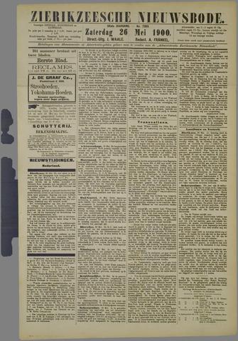 Zierikzeesche Nieuwsbode 1900-05-26