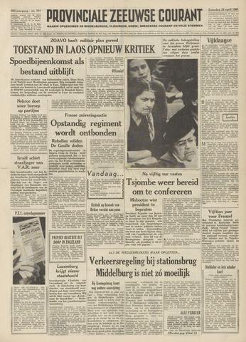 Provinciale Zeeuwse Courant 1961-04-29