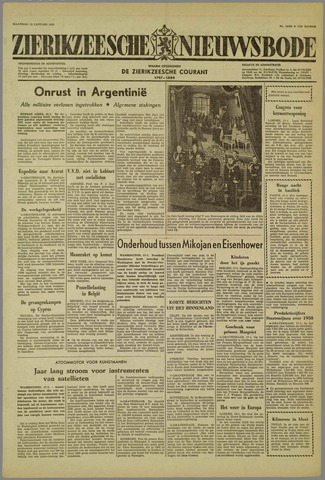 Zierikzeesche Nieuwsbode 1959-01-19
