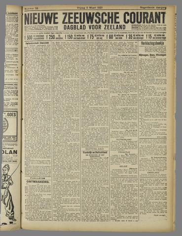Nieuwe Zeeuwsche Courant 1923-03-09