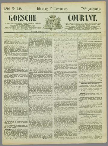 Goessche Courant 1891-12-15
