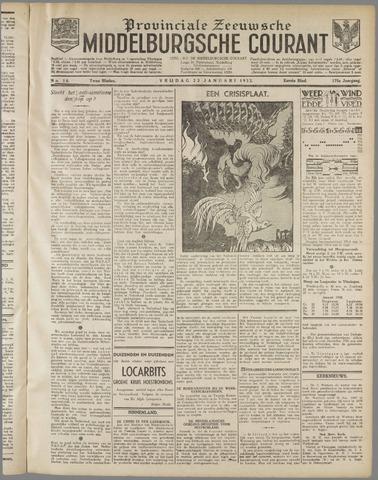 Middelburgsche Courant 1932-01-22