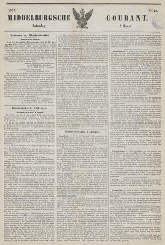 Middelburgsche Courant 1853-03-05