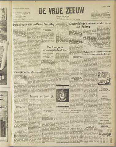 de Vrije Zeeuw 1958-04-25