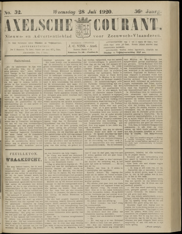 Axelsche Courant 1920-07-28