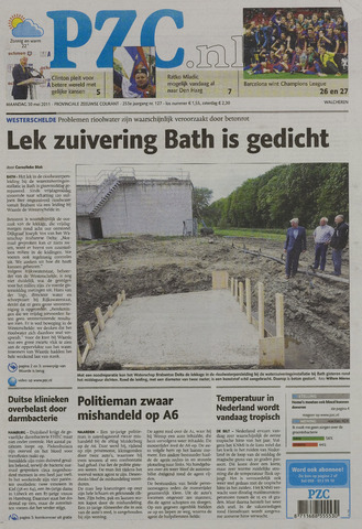 Provinciale Zeeuwse Courant 2011-05-30