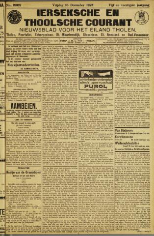 Ierseksche en Thoolsche Courant 1927-12-16