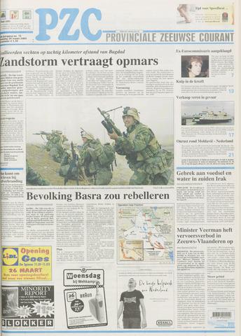 Provinciale Zeeuwse Courant 2003-03-26